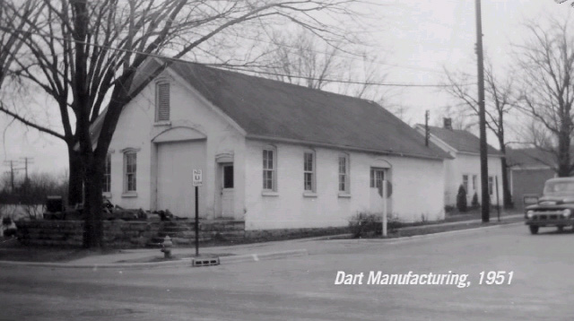 Dart Manufacturing Company building, year 1951
